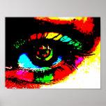 Ojo de la pintada de Digitaces Impresiones