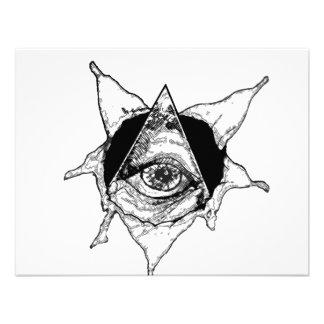 ojo de la pirámide invitacion personalizada