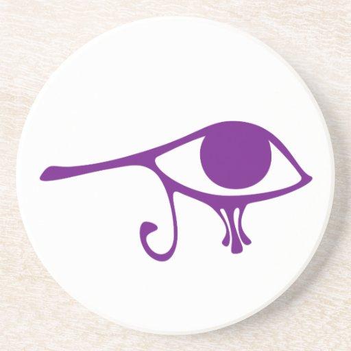 Ojo de la púrpura real de Horus Posavasos Cerveza
