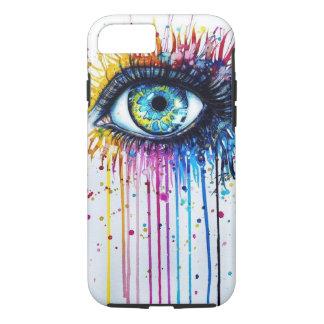 Ojo de la salpicadura funda iPhone 7
