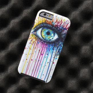 Ojo de la salpicadura funda resistente iPhone 6