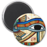 OJO de la serie egipcia de la historia de arte de  Imanes