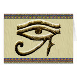 Ojo de la tarjeta de Horus
