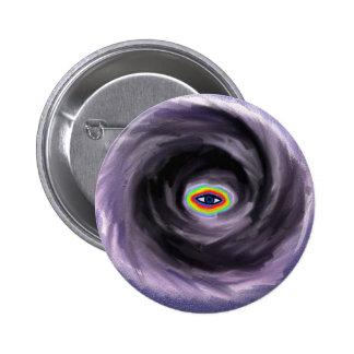 Ojo de la tormenta pin redondo 5 cm