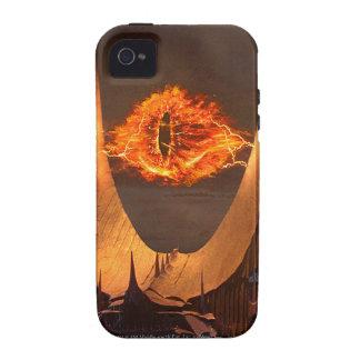 Ojo de la torre de Sauron Case-Mate iPhone 4 Funda