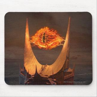 Ojo de la torre de Sauron Mousepads