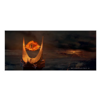 Ojo de la torre de Sauron Póster