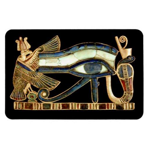 Ojo de las ilustraciones egipcias de Horus - imán