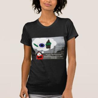 Ojo de Londres de los Waddles Camiseta