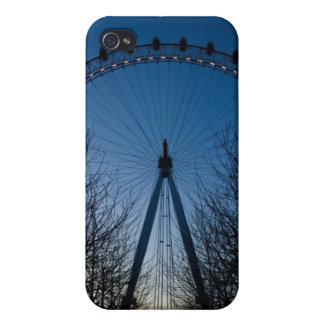 Ojo de Londres en el crepúsculo iPhone 4 Cobertura