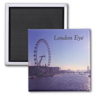Ojo de Londres Imán Cuadrado