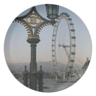Ojo de Londres Plato