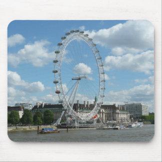 Ojo de Londres Alfombrillas De Raton
