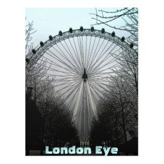 Ojo de Londres Tarjeta Postal