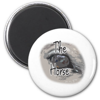 Ojo de los caballos - el caballo imán para frigorifico