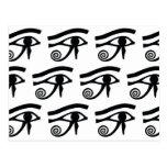 Ojo de los Hieroglyphics de Horus Postal