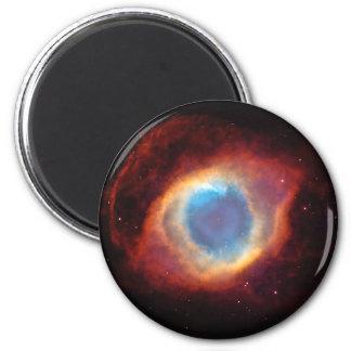 Ojo de los imanes redondos de la nebulosa de la imán redondo 5 cm