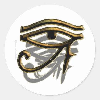 Ojo de los pegatinas de Horus