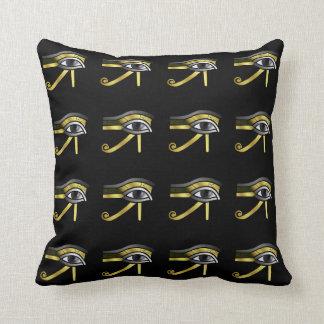 Ojo de oro de Horus Cojin