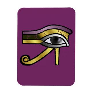 Ojo de oro de Horus Imán Rectangular