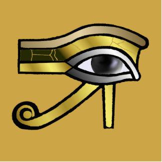 Ojo de oro de Horus Pin Fotoescultura