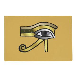 Ojo de oro de Horus Tapete Individual