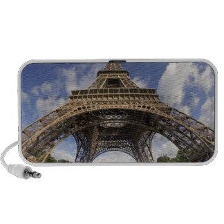 Ojo de pescados tirado de torre Eiffel iPod Altavoces