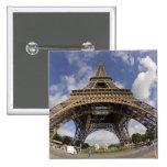 Ojo de pescados tirado de torre Eiffel Pins