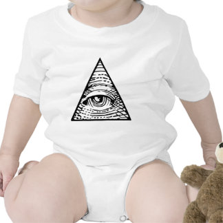 Ojo de Providence Traje De Bebé