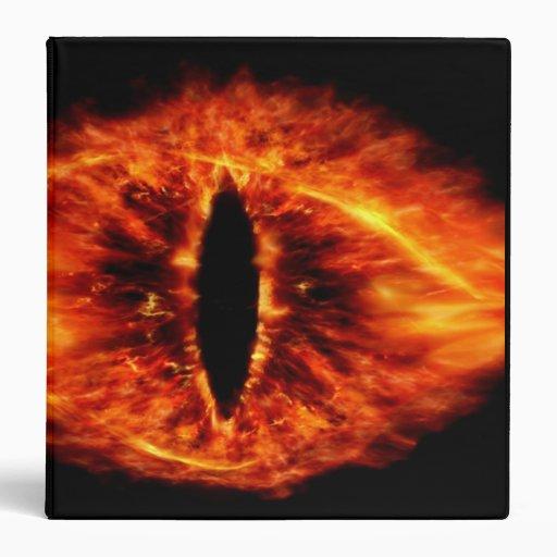 """Ojo de Sauron Carpeta 1 1/2"""""""