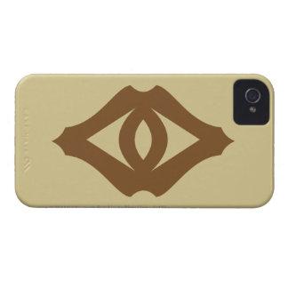 Ojo de Sauron iPhone 4 Case-Mate Protectores