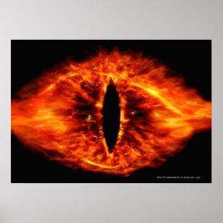 Ojo de Sauron Póster
