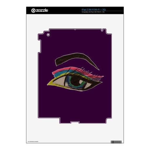 Ojo de Smokey Calcomanía Para iPad 2