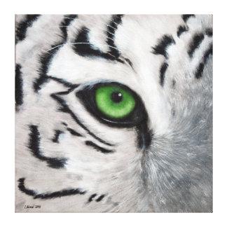 Ojo de tigre impresion en lona