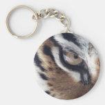 Ojo de un tigre llavero