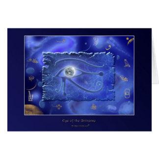 OJO de WADJET del diseño de tarjeta de la fantasía