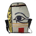 Ojo de Wedjat, detalle de la cubierta del sarcófag Bolsa De Mensajería