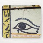 Ojo de Wedjat, detalle de la cubierta del sarcófag Tapetes De Ratones