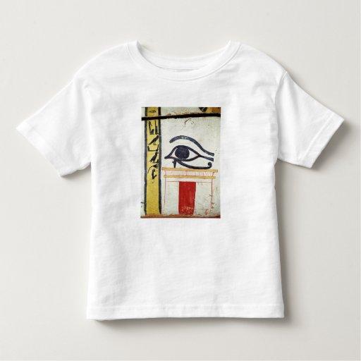 Ojo de Wedjat, detalle de la cubierta del T Shirts