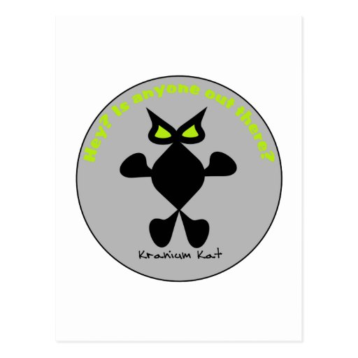 Ojo del amarillo del gato, gato amarillo del ojo postal