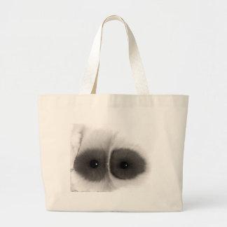 Ojo del búho de las series bolsa de tela grande