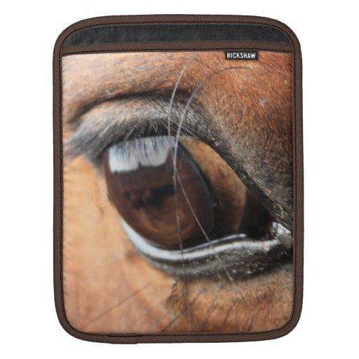 Ojo del caballo funda para iPads