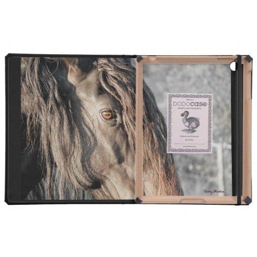 Ojo del caballo iPad carcasas