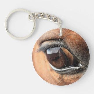 Ojo del caballo llavero