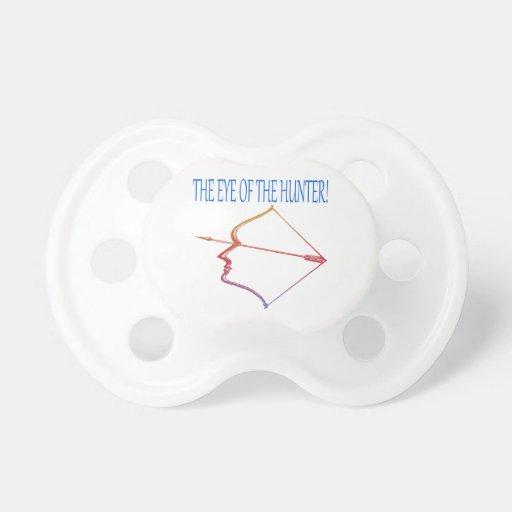 Ojo del cazador 3 chupete de bebe