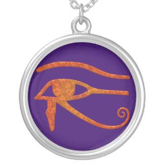 Ojo del colgante del símbolo de Wadjet del egipcio