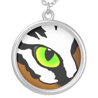 Ojo del collar del tigre