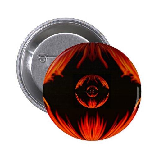 Ojo del Draco Pin Redondo 5 Cm