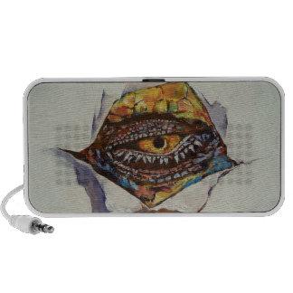 Ojo del dragón notebook altavoces