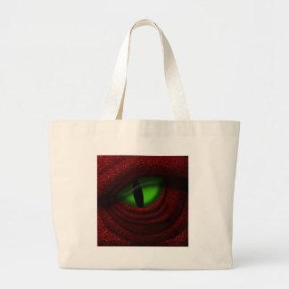 Ojo del dragón bolsa tela grande
